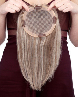 Toppiece 4003 Monofilament Human Hair Wiglets by Louis Ferre