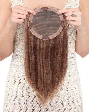 Toppiece 4004 Monofilament Human Hair Wiglets by Louis Ferre