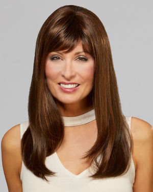 Starlet Monofilament Crown Synthetic Wig by Mane Attraction