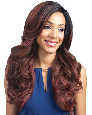 Linaro Lace Front Human Hair Blend Wig By Bobbi Boss