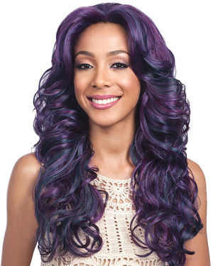 Black Pearl Lace Front Synthetic Wig by Bobbi Boss