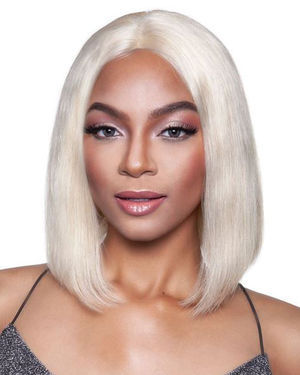 MLH521 Lace Front Human Hair Wig by Melanin Queen