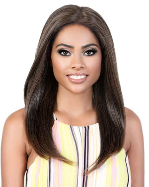 KLP Ebony Lace Part Synthetic Hair Wig by Motown Tress