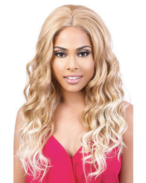 SL134 Geo Lace Front Synthetic Wig by Motown Tress