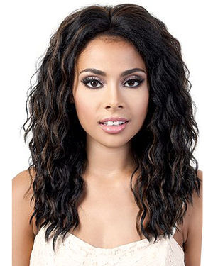 L Melany Lace Front Synthetic Wig by Motown Tress