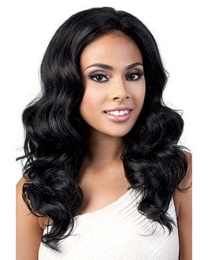 L Yulia Lace Front Synthetic Wig by Motown Tress