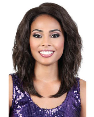 LDP-Eva Lace Front & Lace Part Synthetic Wig by Motown Tress