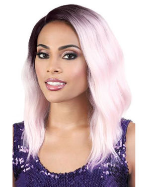 LDP-Curve3 Lace Front & Lace Part Synthetic Wig by Motown Tress