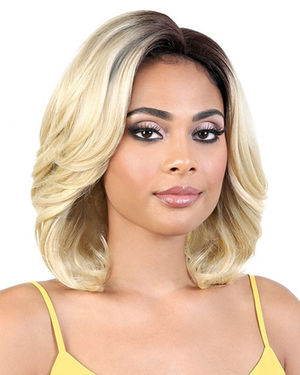 LDP-Carly Lace Front & Lace Part Synthetic Wig by Motown Tress