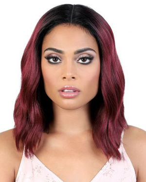 LDP-Trina Lace Front & Lace Part Synthetic Wig by Motown Tress