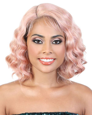 LDP-Carol Lace Front & Lace Part Synthetic Wig by Motown Tress