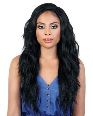 L360 Liz27 Lace Front & Lace Part Synthetic Wig by Motown Tress