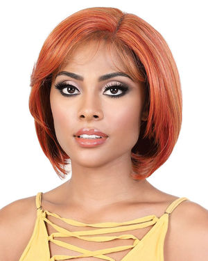 LDP-Stacy Lace Front & Lace Part Synthetic Wig by Motown Tress