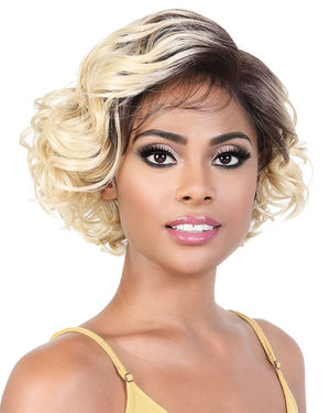 LDP-Alva Lace Front & Lace Part Synthetic Wig by Motown Tress