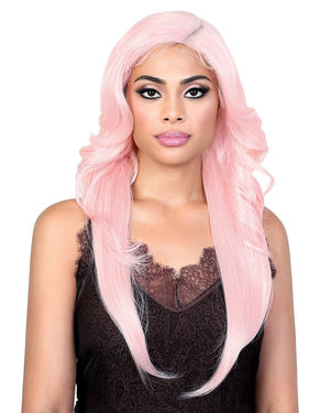LDP-Curve4 Lace Front & Lace Part Synthetic Wig by Motown Tress