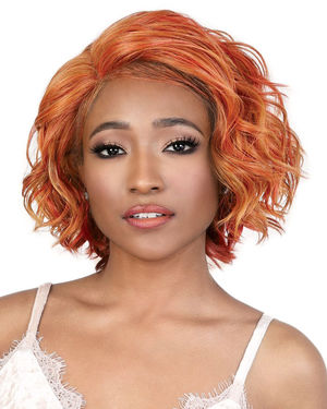 LDP-Glow Lace Front & Lace Part Synthetic Wig by Motown Tress