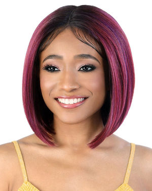 LDP-Onyx Lace Front & Lace Part Synthetic Wig by Motown Tress