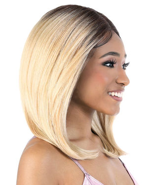 LDP-Spin16 Lace Front & Lace Part Synthetic Wig by Motown Tress