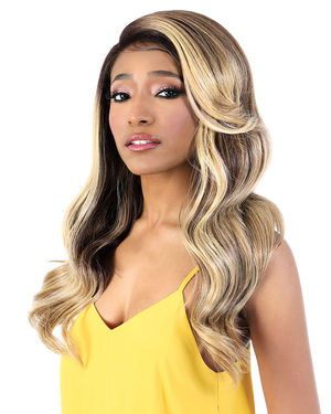 LDP-Gami Lace Front & Lace Part Synthetic Wig by Motown Tress