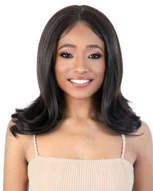 LDP-Song Lace Front & Lace Part Synthetic Wig by Motown Tress