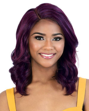 LDP-Estee Lace Front & Lace Part Synthetic Wig by Motown Tress
