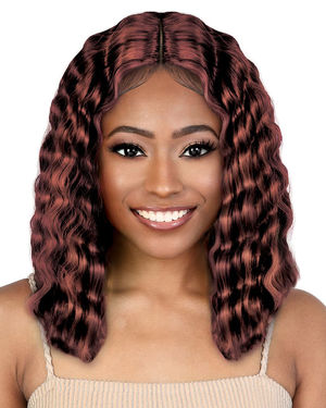 LDP-Crmp14 Lace Front & Lace Part Synthetic Wig by Motown Tress
