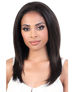 HNBL3 Ina Lace Front Remy Human Hair Wig by Motown Tress