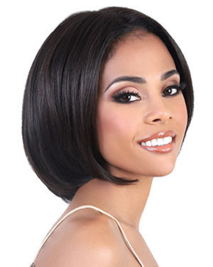 HNBLP Pat Lace Front Remy Human Hair Wig by Motown Tress