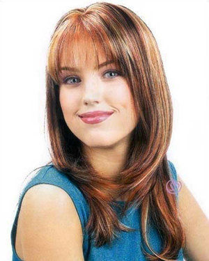 Alicia Skin Top Synthetic Wig by New Look