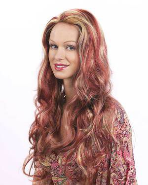 Natalie XL / Nataly XL Skin Top Synthetic Wig by New Look