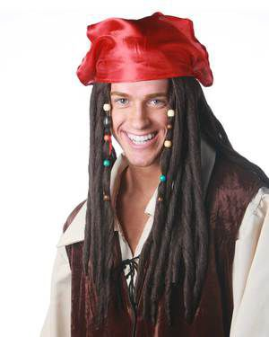 Pirate by New Look Costume Wigs