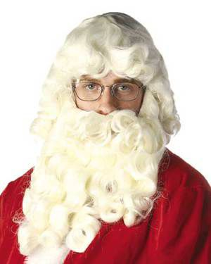 Deluxe Santa by New Look Costume Wigs