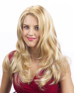Linda Skin Top Synthetic Wig by New Look