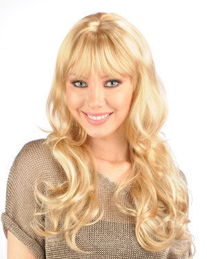 Natalie B / Nataly B Skin Part Synthetic Wig by New Look