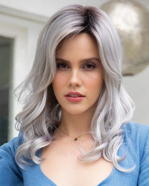 Ensley Lace Front & Monofilament Part Synthetic Wig by Orchid