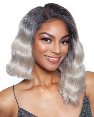 Mabel Lace Front & Lace Part Synthetic Wig by Red Carpet
