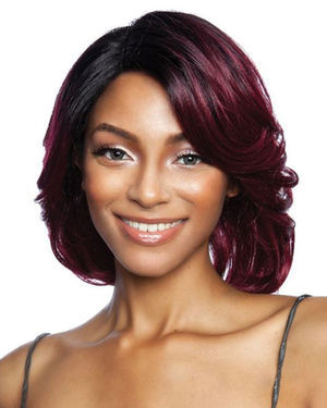 Kira Lace Front & Lace Part Synthetic Wig by Red Carpet
