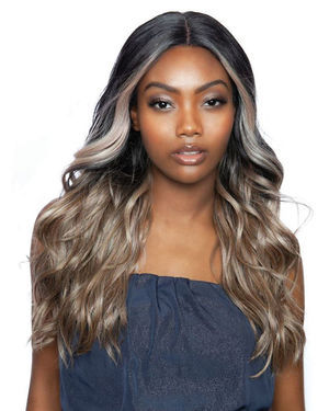 Breelyn Lace Front & Lace Part Synthetic Wig by Red Carpet