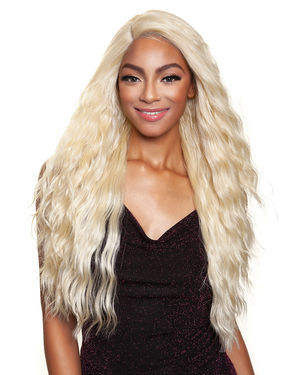 Ridley Lace Front & Lace Part Synthetic Wig by Red Carpet