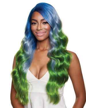 Macaron Girl-2 Lace Front & Lace Part Synthetic Wig by Red Carpet