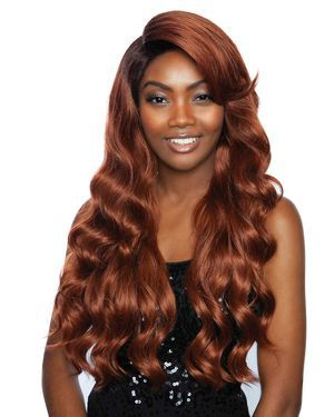 Ibis Lace Front & Lace Part Synthetic Wig by Red Carpet