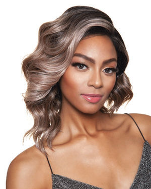 Finches Lace Front & Lace Part Synthetic Wig by Red Carpet