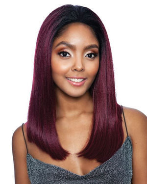 Obsess Bob Lace Front Synthetic Wig by Red Carpet