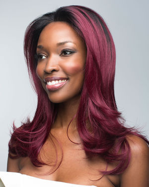 Red Carpet Lace Front & Mono Part HR Synthetic Wig by Revlon