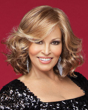 Celebrity Lace Front & Monofilament Synthetic Wig by Raquel Welch