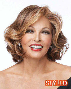 Crowd Pleaser Lace Front & Monofilament Part Synthetic Wig by Raquel Welch