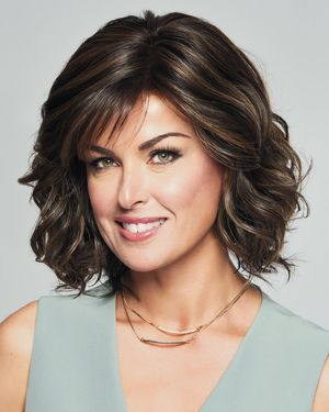 Editors Pick Lace Front & Monofilament Synthetic Wig by Raquel Welch