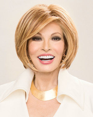 Straight Up With a Twist Lace Front & Monofilament Synthetic Wig by Raquel Welch