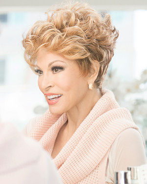 The New Romantic Lace Front & Monofilament Synthetic Wig by Raquel Welch