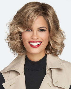 Brave The Wave Lace Front & Monofilament Part Synthetic Wig by Raquel Welch